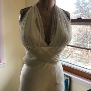 Vera Wang Silk Satin Wedding Gown